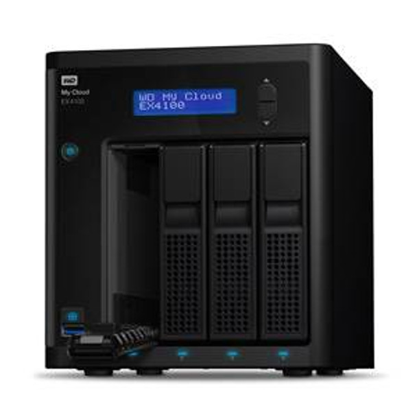 Western Digital WD My Cloud EX4100 4-Bay 4x 6TB NAS - Marvell 1.6GHz Dual-Core CPU, 2GB RAM Product Image 3