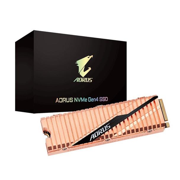 Image for Gigabyte AORUS 500GB M.2 Gen4 NVMe SSD GP-ASM2NE6500GTTD AusPCMarket