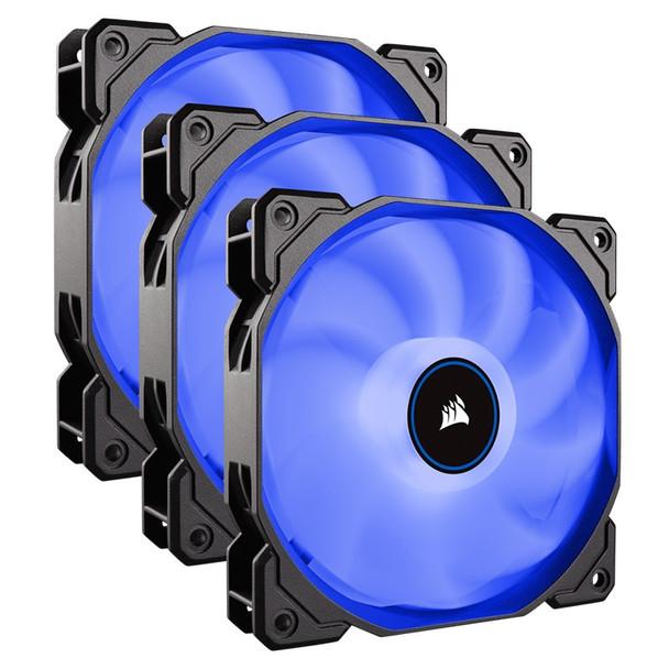 Image for Corsair AF Series AF120 LED (2018) 120mm Fan - Blue - 3 Pack AusPCMarket