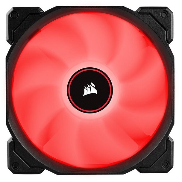 Corsair Air Series AF140 LED (2018) Low Noise 140mm Fan - Red Product Image 2