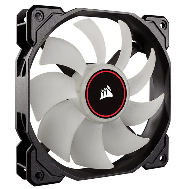 Corsair Air Series AF140 LED (2018) Low Noise 140mm Fan - Red Product Image 4