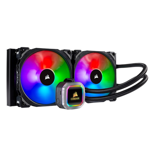 Image for Corsair Hydro Series H115i PLATINUM RGB 280mm All-in-One Liquid CPU Cooler AusPCMarket