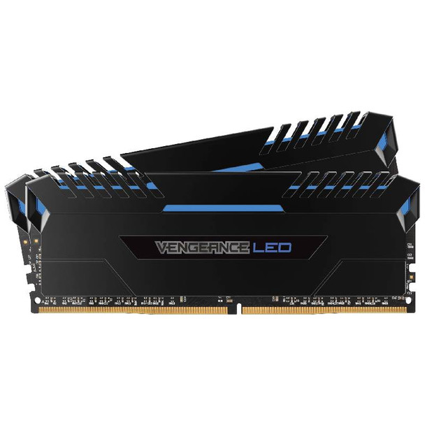 Image for Corsair Vengeance LED 16GB (2x 8GB) DDR4 3000MHz Memory Blue AusPCMarket