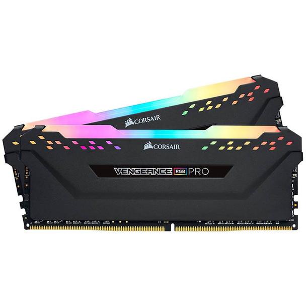 Image for Corsair Vengeance RGB PRO 16GB (2x 8GB) DDR4 2666MHz Memory - Black AusPCMarket