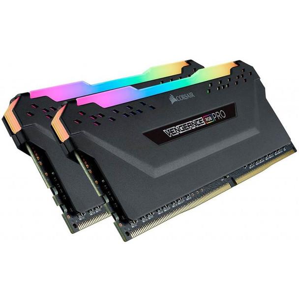 Corsair Vengeance RGB PRO 16GB (2x 8GB) DDR4 2666MHz Memory - Black Product Image 2
