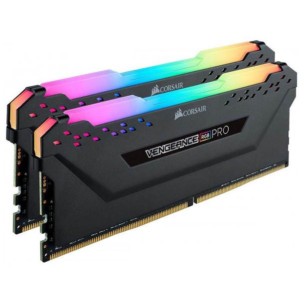Corsair Vengeance RGB PRO 16GB (2x 8GB) DDR4 2666MHz Memory - Black Product Image 3