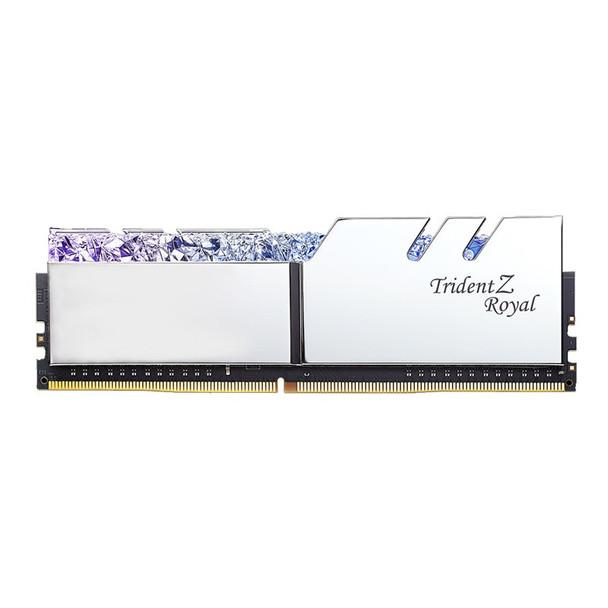 G.Skill Trident Z Royal RGB 16GB (2x 8GB) DDR4 CL16 3000MHz Memory - Silver Product Image 3