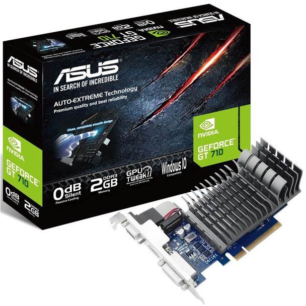 Image for Asus GeForce GT 710 2GB Silent Video Card AusPCMarket