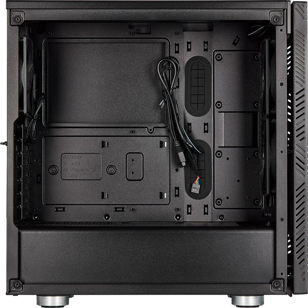 Corsair 275R Airflow Tempered Glass Mid-Tower ATX Case - Black Product Image 8