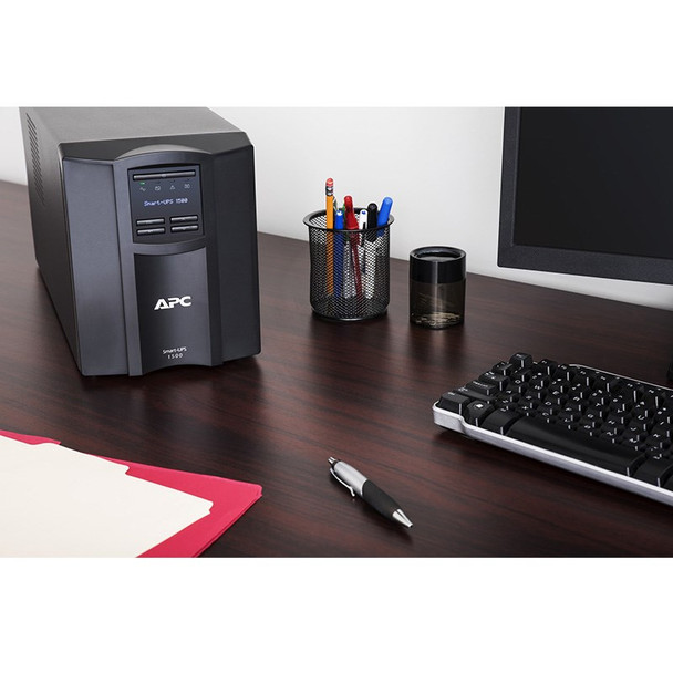 APC SMT1500IC Smart-UPS 1500VA LCD 230V with SmartConnect Product Image 3