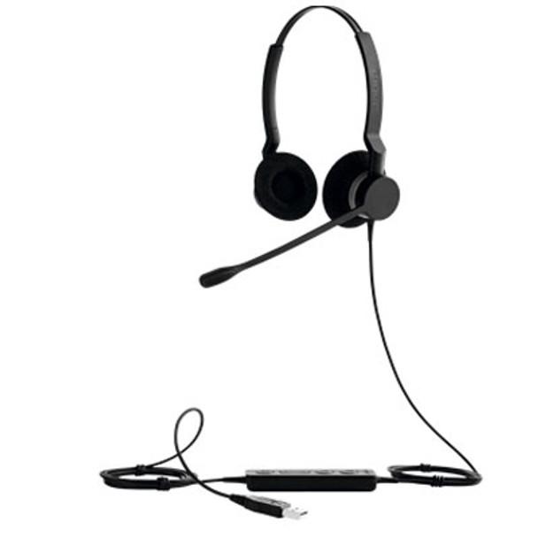 Jabra BIZ 2300 USB Duo Typ 82 E-STD Microsoft Control Headset Product Image 4
