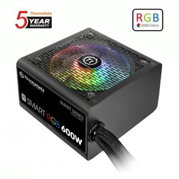 Image for Thermaltake SMART RGB 600W 80 PLUS Power Supply AusPCMarket