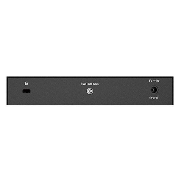 D-Link DGS-108 8-Port Gigabit Desktop Switch (Metal Housing) Product Image 2