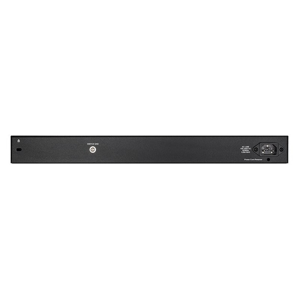 D-Link DGS-1210-28MP 28-Port Gigabit Smart Managed PoE+ Switch with 4 SFP Ports Product Image 3