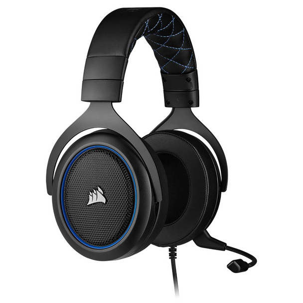 Corsair HS50 Pro Stereo Gaming Headset - Blue Product Image 5