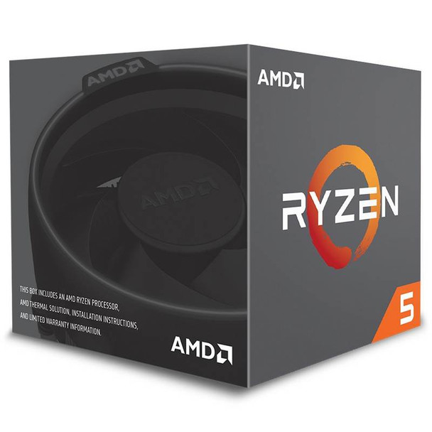 AMD Ryzen 5 2600 6 Core Socket AM4 3.4GHz CPU Processor + Wraith Stealth Cooler Product Image 2