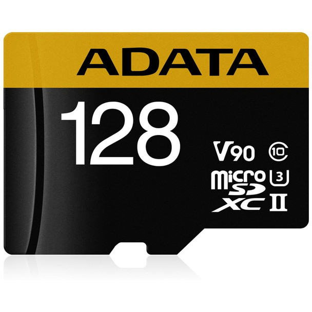 Image for Adata 128GB Premier ONE microSDXC UHS-II Memory Card with SD Adaptor - 275MB/s AusPCMarket