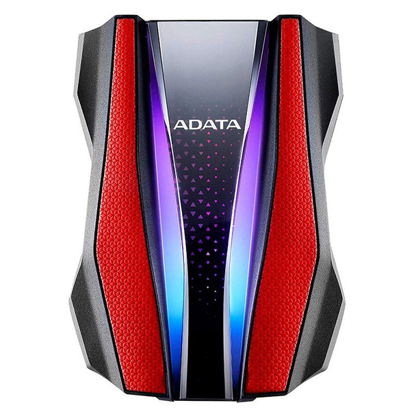 Adata HD770G 2TB USB 3.0 Rugged External Hard Drive - Red Product Image 2