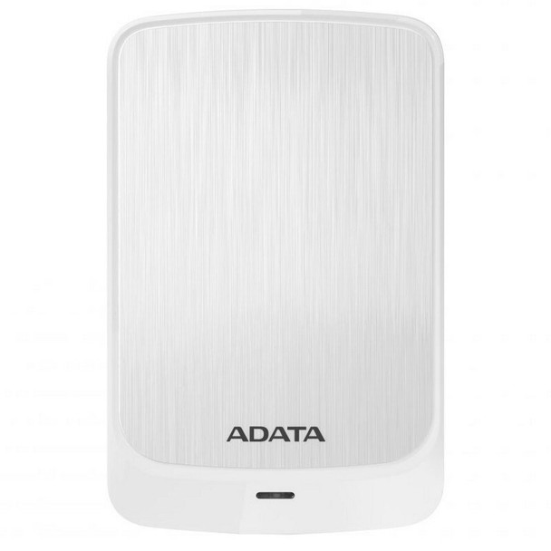 Image for Adata HV320 1TB USB 3.0 Slim Portable External Hard Drive - White AusPCMarket