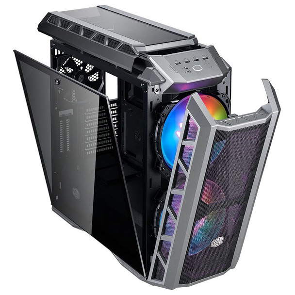 Cooler Master Mastercase H500P ARGB Mesh TG Mid-Tower ATX Case - Black Product Image 5