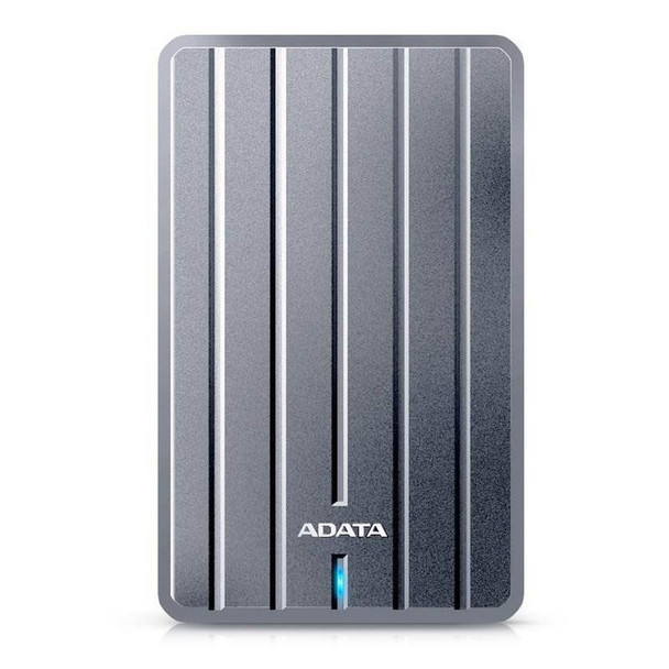 Adata HC660 2TB Slim 2.5in USB 3.0 Portable External Hard Drive - Titanium Product Image 4