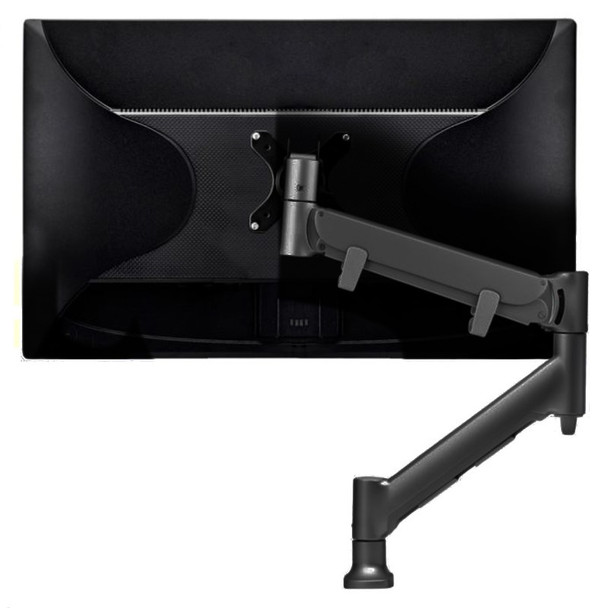 Atdec Direct to Desk Single Monitor Display Mount for up to 43in - Black Product Image 2