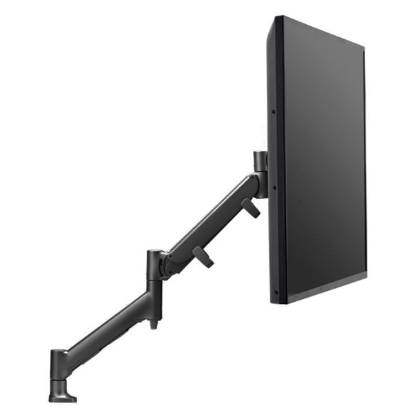 Atdec Direct to Desk Single Monitor Display Mount for up to 43in - Black Product Image 3