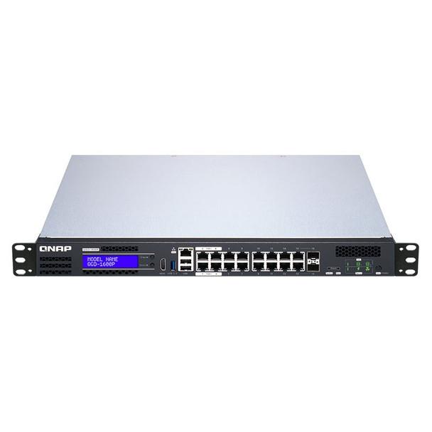 QNAP QGD-1600P-8G 16 Port Gigabit PoE Managed Switch with SFP Combo Ports Product Image 5
