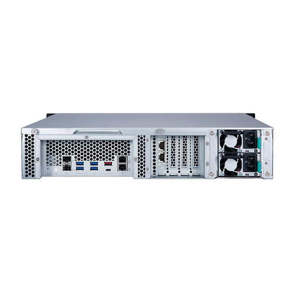 QNAP TS-h1277XU-RP 12-Bay Diskless 2U Rackmount NAS Ryzen 7 3700X 3.4GHz 32GB Product Image 4