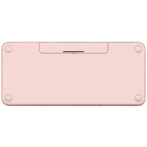 Logitech K380 Multi-Device Wireless Bluetooth Keyboard - Rose Product Image 3