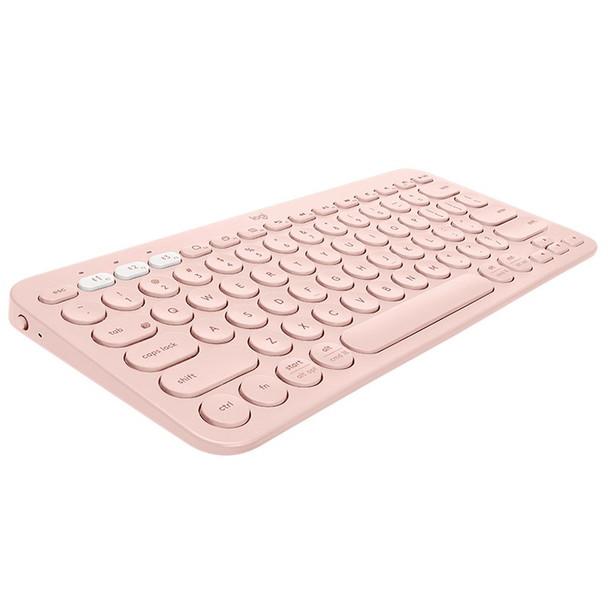 Logitech K380 Multi-Device Wireless Bluetooth Keyboard - Rose Product Image 4
