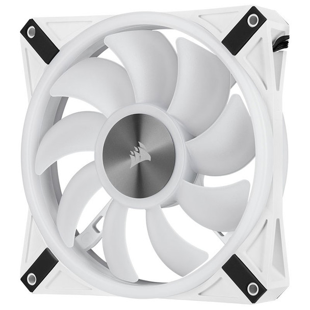 Corsair iCUE QL140 RGB White 140mm PWM Fan - Dual Pack with Lighting Node CORE Product Image 15