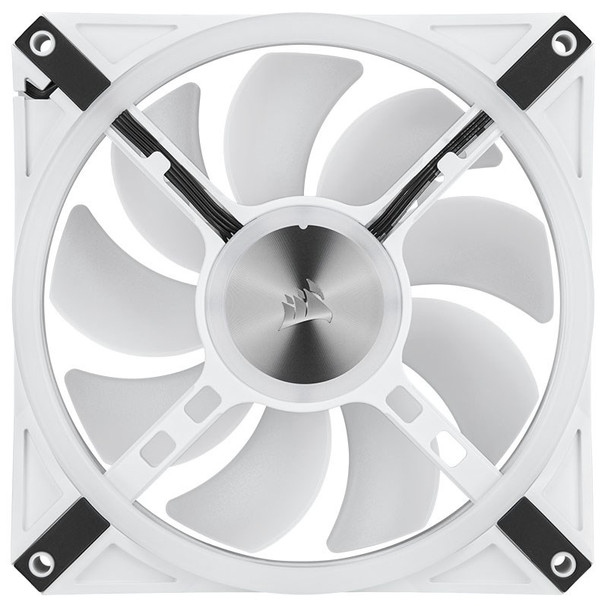 Corsair iCUE QL140 RGB White 140mm PWM Fan - Dual Pack with Lighting Node CORE Product Image 16