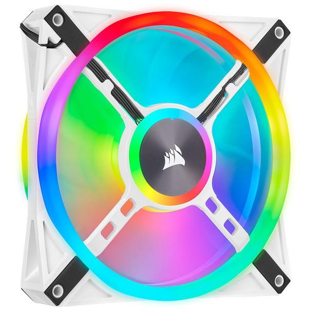 Corsair iCUE QL140 RGB White 140mm PWM Single Fan Product Image 6