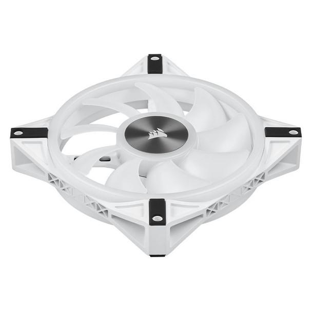 Corsair iCUE QL140 RGB White 140mm PWM Single Fan Product Image 7