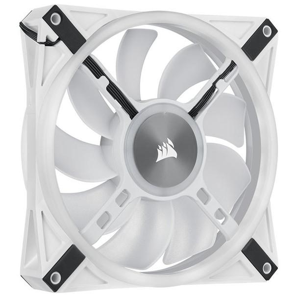 Corsair iCUE QL140 RGB White 140mm PWM Single Fan Product Image 9