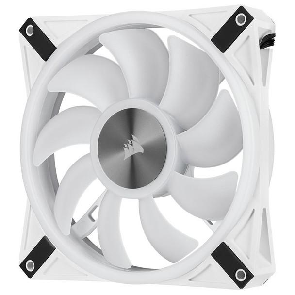 Corsair iCUE QL140 RGB White 140mm PWM Single Fan Product Image 10