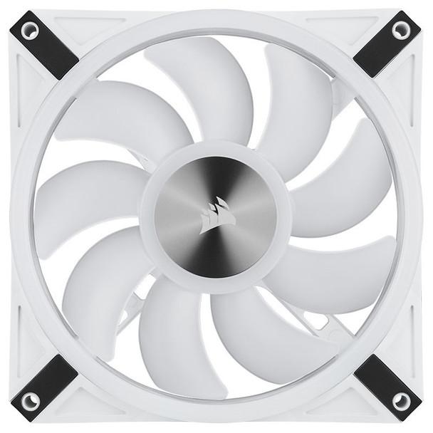 Corsair iCUE QL140 RGB White 140mm PWM Single Fan Product Image 12