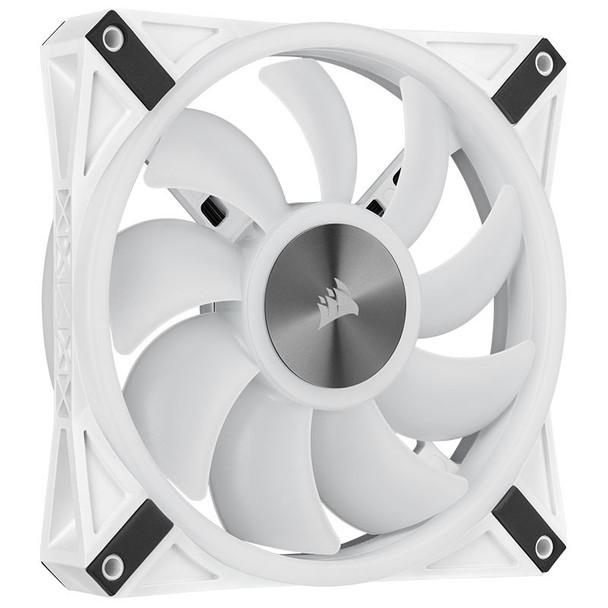 Corsair iCUE QL140 RGB White 140mm PWM Single Fan Product Image 13