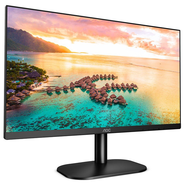AOC 24B2XH 23.8in 75Hz FHD Flicker-Free Frameless IPS Monitor Product Image 2
