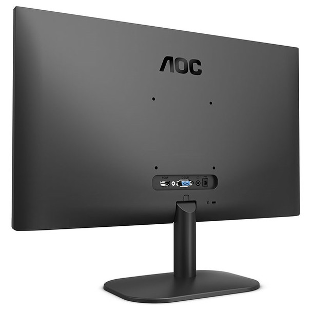 AOC 24B2XH 23.8in 75Hz FHD Flicker-Free Frameless IPS Monitor Product Image 5