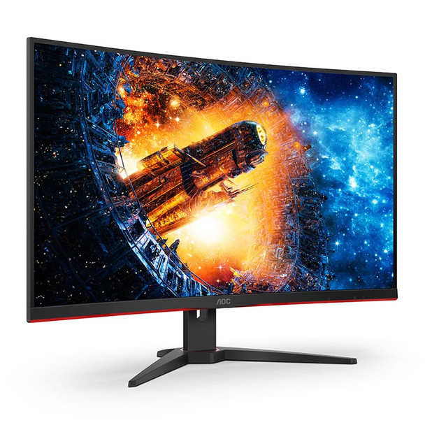 Image for AOC C32G2E 31.5in 165Hz FHD 1ms FreeSync VA Curved Gaming Monitor AusPCMarket