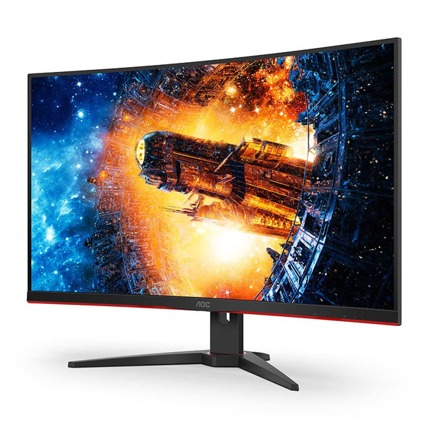 AOC C32G2E 31.5in 165Hz FHD 1ms FreeSync VA Curved Gaming Monitor Product Image 8