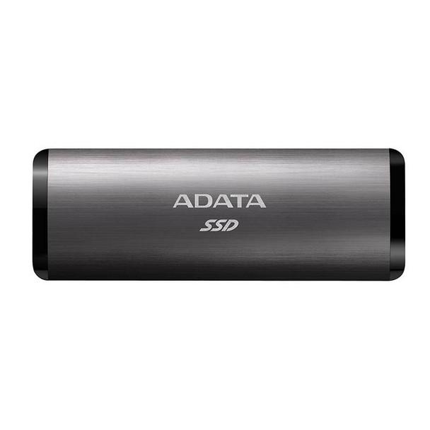 Adata SE760 1TB USB 3.1 Type-C Portable External SSD Hard Drive - Titanium Product Image 2