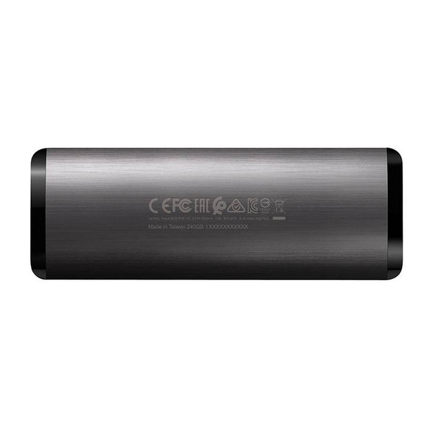 Adata SE760 1TB USB 3.1 Type-C Portable External SSD Hard Drive - Titanium Product Image 3