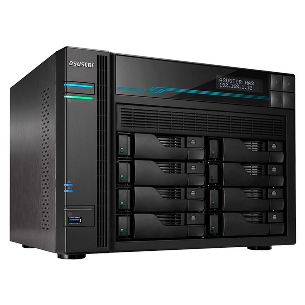 Image for Asustor AS6508T 8-Bay Diskless Desktop NAS Quad-Core Atom CPU 8GB RAM AusPCMarket
