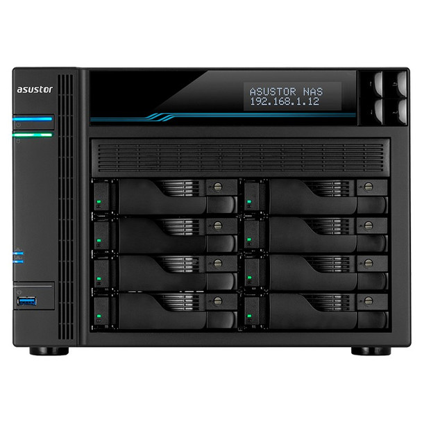 Asustor AS6508T 8-Bay Diskless Desktop NAS Quad-Core Atom CPU 8GB RAM Product Image 2