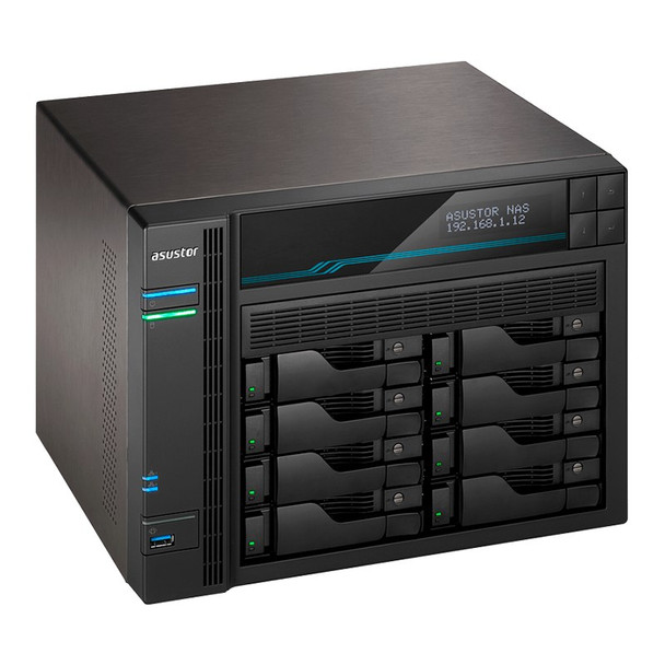 Asustor AS6508T 8-Bay Diskless Desktop NAS Quad-Core Atom CPU 8GB RAM Product Image 5