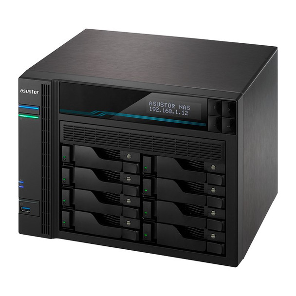 Asustor AS6508T 8-Bay Diskless Desktop NAS Quad-Core Atom CPU 8GB RAM Product Image 6