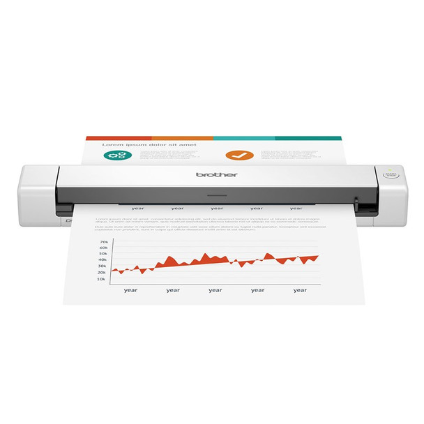 Image for Brother DS-640 Portable Document Scanner AusPCMarket